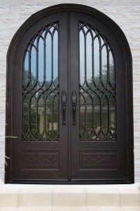 Wrought Iron Front Door Los Angeles