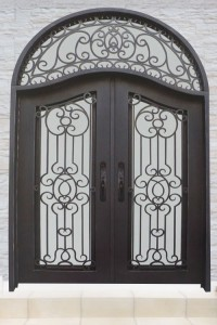 wrought iron front doors Calabasas Malibu Santa monica, Los Angeles
