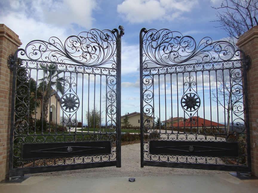 Wrought Iron Gates, Wrought Iron