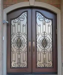 Iron Double Doors 1006