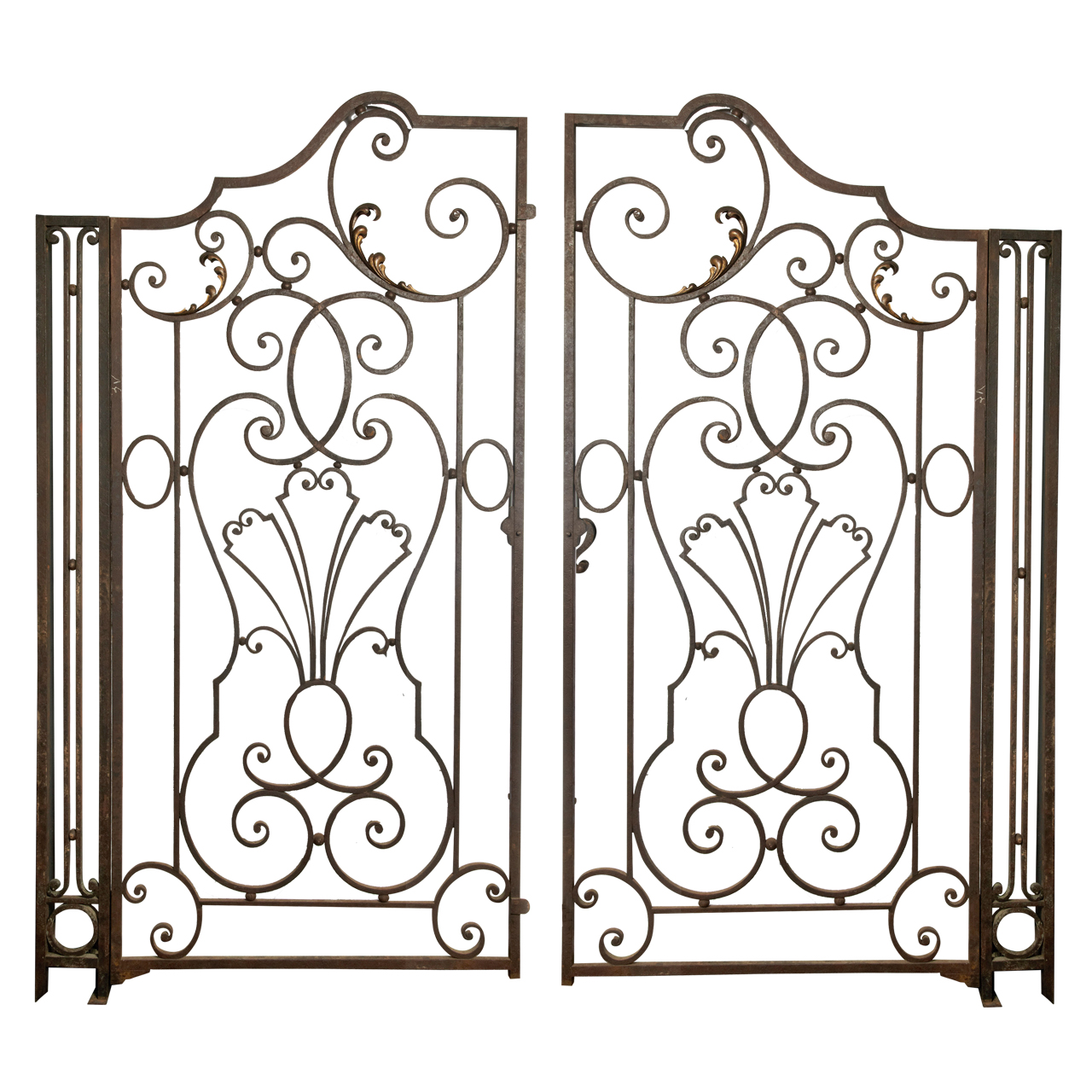 Classic Wrought Iron Gates Calabasas Woodland Hills Agoura North