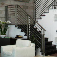Wrought Iron Outdoor Stair Railings