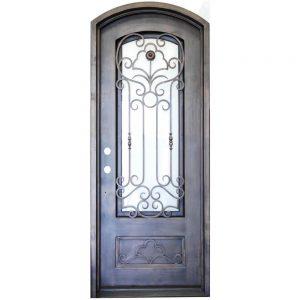 Iron Double Doors 10095