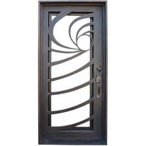 Iron Double Doors 10096