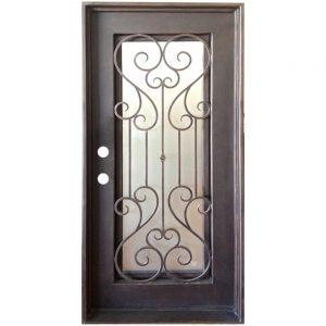 Iron Double Doors 10098