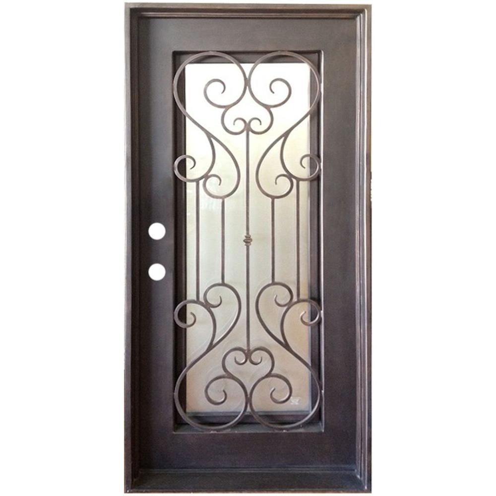Grafton Exterior Wrought Iron Glass Doors Eclipse Collection Door Exterior Door Window Grafton