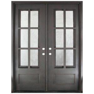 Iron Double Doors 10100