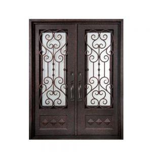 Iron Double Doors 10101