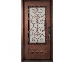 Iron Door 10102  sc 1 st  Wrought Iron Originals & Wrought Iron Originals | Iron Double Doors 10105 - Wrought Iron ...