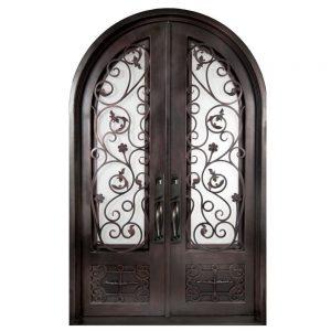 Iron Double Doors 10108