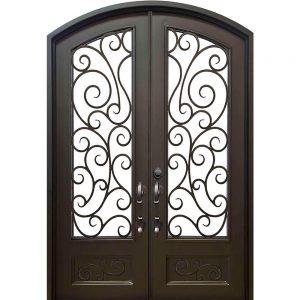 Iron Double Doors 10109