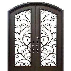 Iron Double Doors 10211