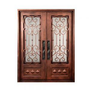 Iron Double Doors 10212
