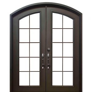 Iron Double Doors 10213