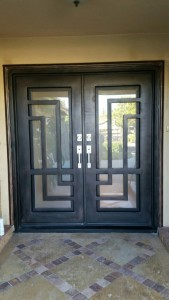 Iron Double Doors 10201