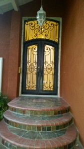 Iron Double Doors 10209