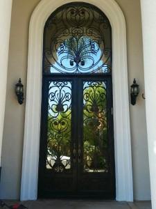 Iron Double Doors 10202