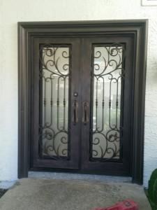 Iron Double Doors 10204