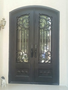 Iron Double Doors 10206