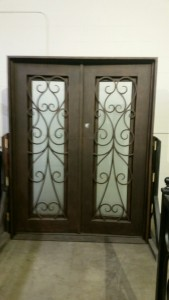 Iron Double Doors 10207