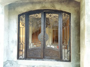 Iron Double Doors 10208