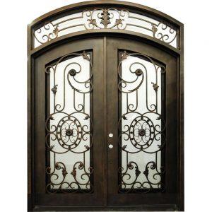 Iron Double Doors 10093