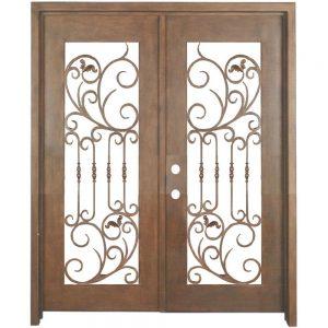 Iron Double Doors 10092