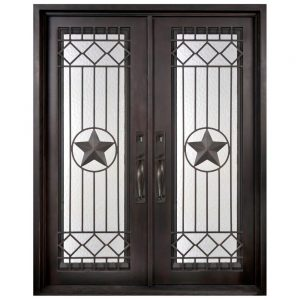 Iron Double Doors 10210