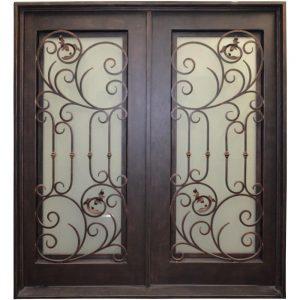 Iron Double Doors 10094