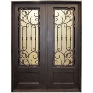 Iron Double Doors 10091