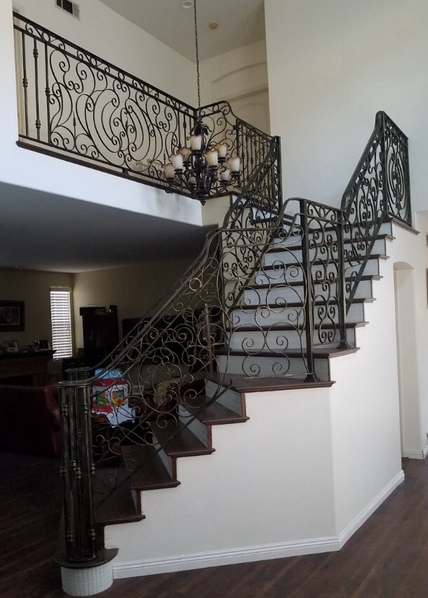 If You Donu0027t See A Custom Metal Railing Designs You Like, We Can Custom  Create One For Your Decor.