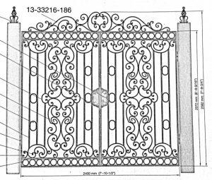 Iron Gate Model 30434
