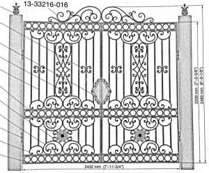 Iron Gate Model 30437