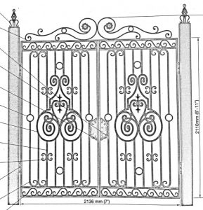 Iron Gate Model 36018