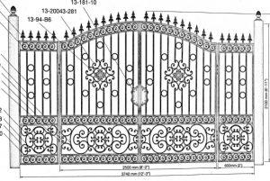 Iron Gate Model 36010