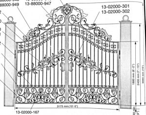 Iron Gate Model 10562