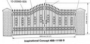 Iron Gate Model 11108