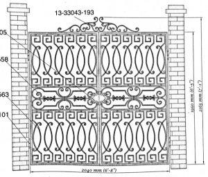 Iron Gate Model 11503