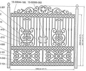 Iron Gate Model 36087