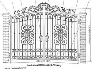 Iron Gate Model 33597