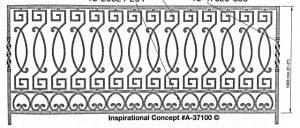 Iron Handrails Model 37100