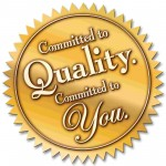 Committed to Quality Seal Final - custom gates los angeles, wrought iron gates los angeles