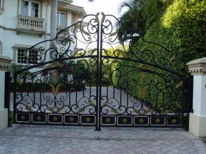 Traditional Wrought Iron Gates San Fernando Valley, Los Angeles