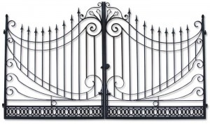 custom gates los angeles, wrought iron gate Los Angeles, Malibu, Pacific Palisades, Santa Monica, Topanga, Calabasas, Agoura Hills