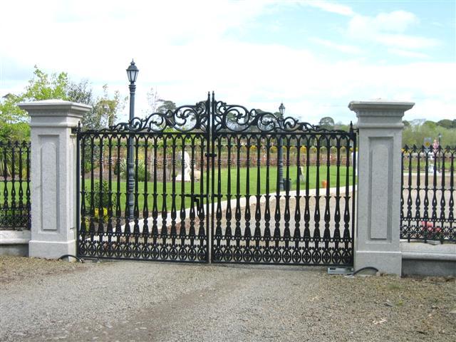 Wrought Iron Gate Woodland Hills Encino Calabasas Canoga Park North