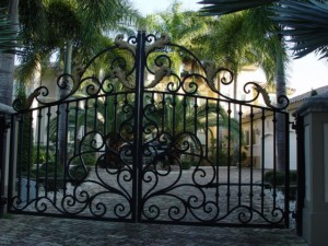 wrought iron gates woodland hills, north hills, topanga, burbank, tarzana, brentwood, santa monica