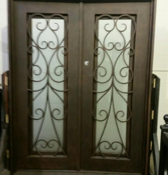 Iron Double Doors 10207